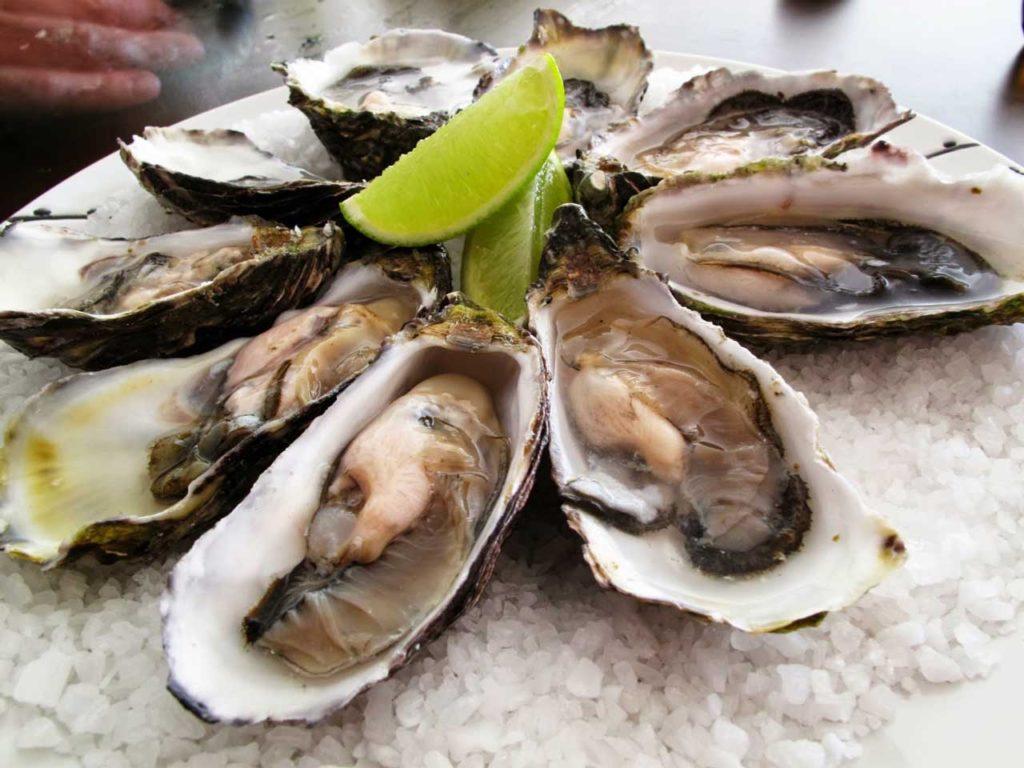 zinc ในอาหารทะเล